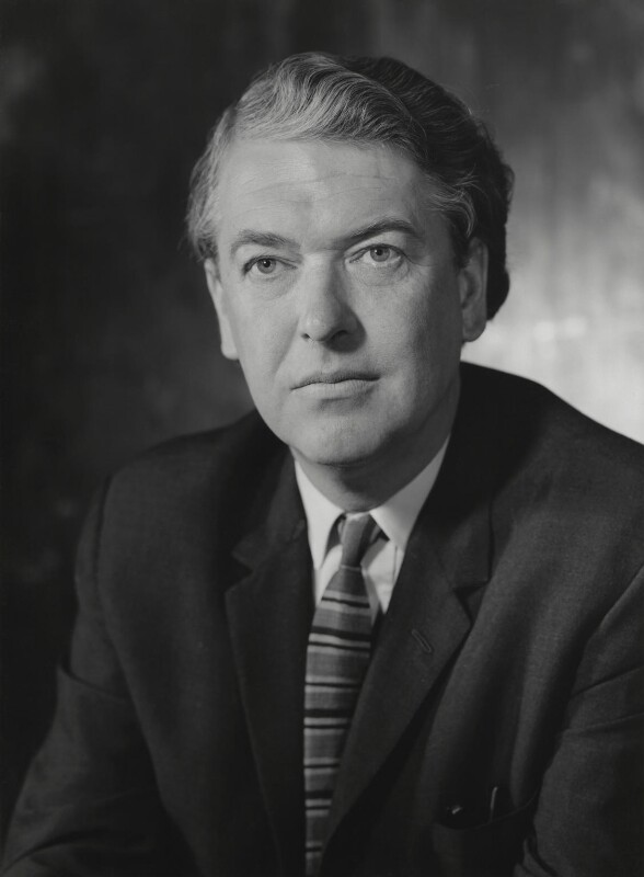 Sir Kingsley Amis, by Godfrey Argent, 3 March 1970 - NPG x163585 - © National Portrait Gallery, London