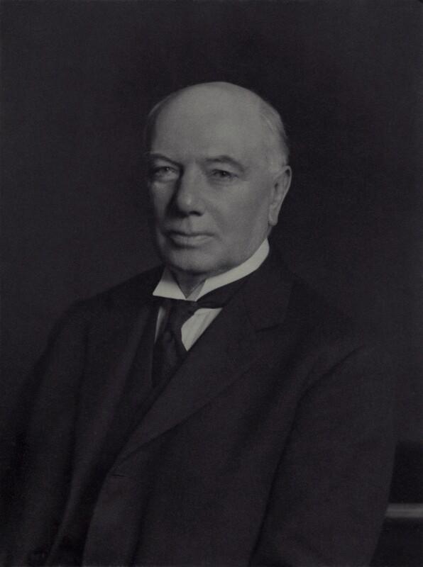 William Warrender Mackenzie, 1st Baron Amulree, by Walter Stoneman, February 1936 - NPG x163591 - © National Portrait Gallery, London