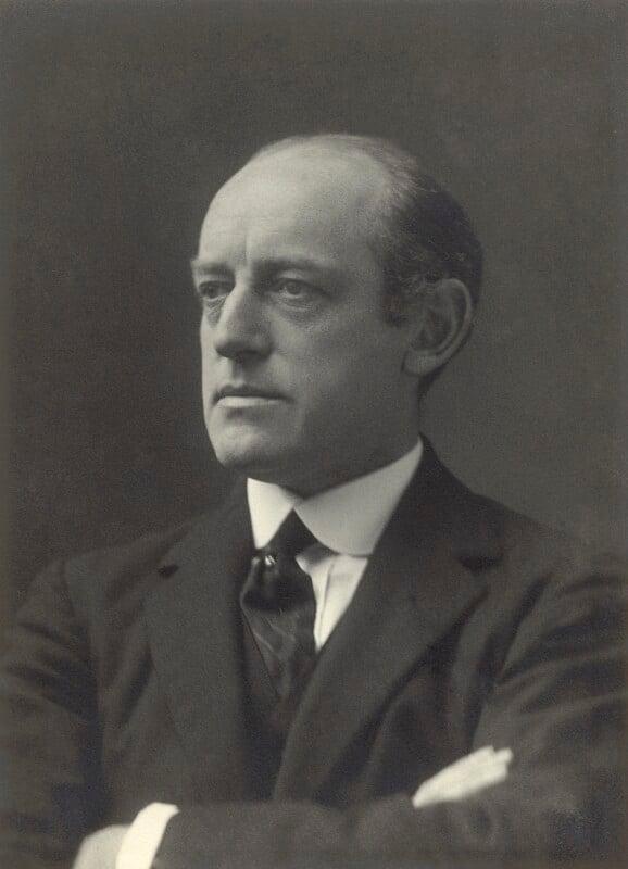 Sir Alan Garrett Anderson, by Walter Stoneman, 1918 - NPG x163598 - © National Portrait Gallery, London