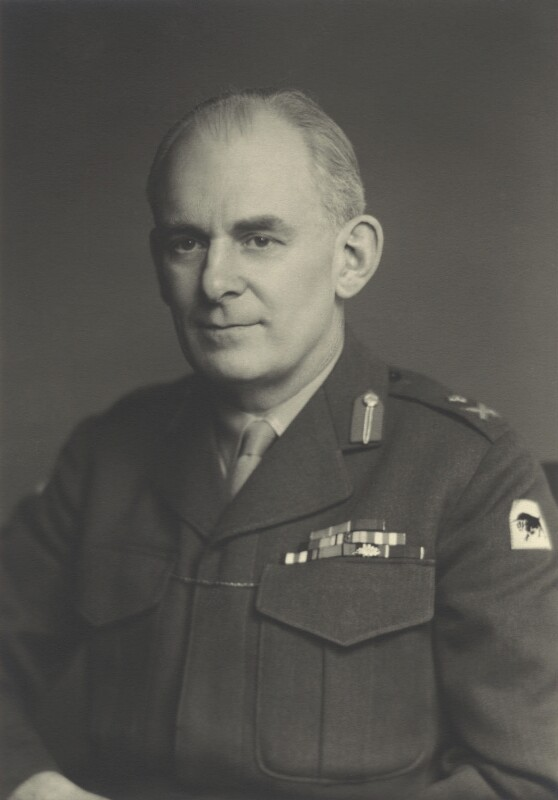 Sir John D'Arcy Anderson, by Walter Stoneman, 1956 - NPG x163611 - © National Portrait Gallery, London