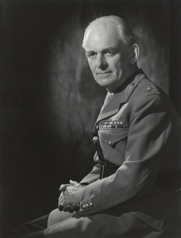 Sir John D'Arcy Anderson, by Walter Bird, 16 August 1963 - NPG x163612 - © National Portrait Gallery, London