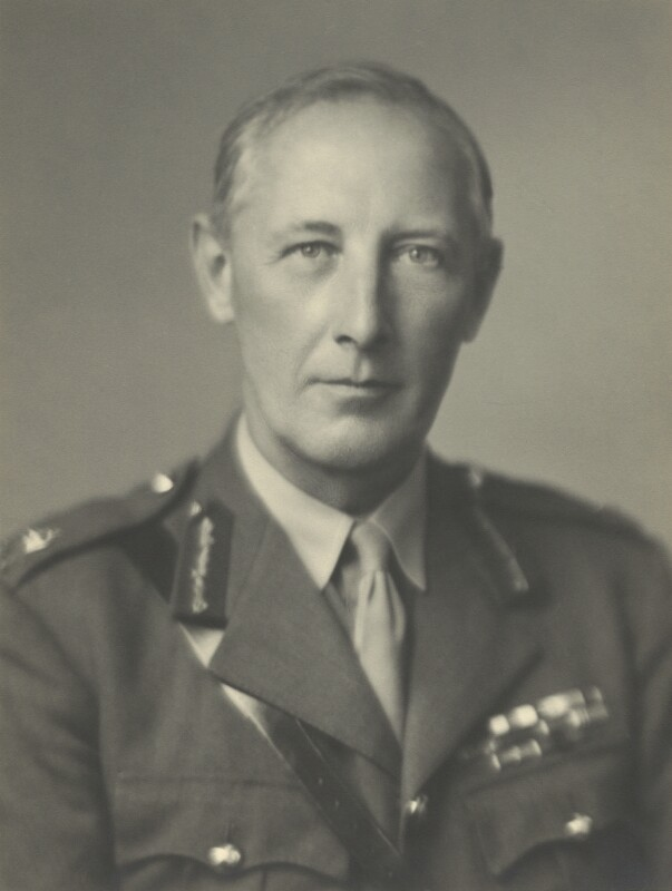 Sir Kenneth Arthur Noel Anderson, by Walter Stoneman, September 1943 - NPG x163616 - © National Portrait Gallery, London