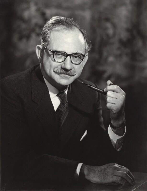Sir (George) Herbert Andrew, by Walter Bird, 25 March 1963 - NPG x163622 - © National Portrait Gallery, London