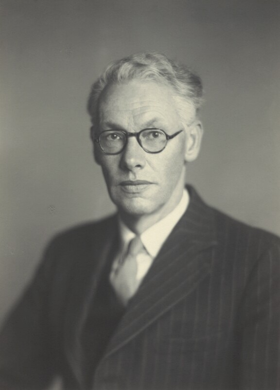 Sir Christopher Howard Andrewes, by Walter Stoneman, October 1947 - NPG x163624 - © National Portrait Gallery, London