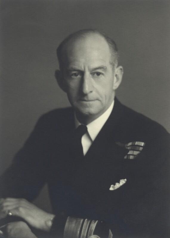 Sir Edmund Anstice, by Walter Stoneman, 1951 - NPG x163633 - © National Portrait Gallery, London