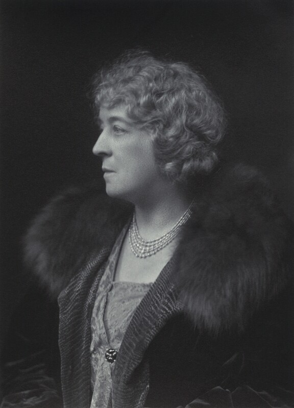 Dame Eva Isabella Henrietta Anstruther, by Walter Stoneman, 1930 - NPG x163634 - © National Portrait Gallery, London