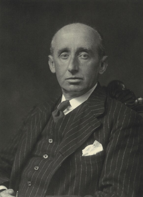 Randal Mark Kerr M'Donnell, 12th Earl of Antrim, by Walter Stoneman, 1930 - NPG x163638 - © National Portrait Gallery, London