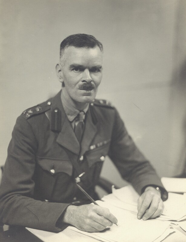 Philip Reginald Antrobus, by Walter Stoneman, September 1942 - NPG x163640 - © National Portrait Gallery, London