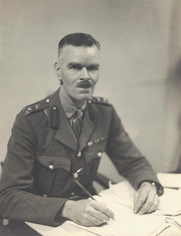 Philip Reginald Antrobus, by Walter Stoneman, September 1942 - NPG x163640 - © National Portrait Gallery, London