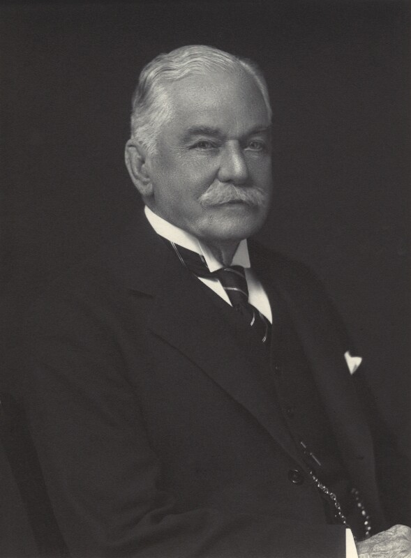 Sir Reginald Laurence Antrobus, by Walter Stoneman, 1930 - NPG x163641 - © National Portrait Gallery, London