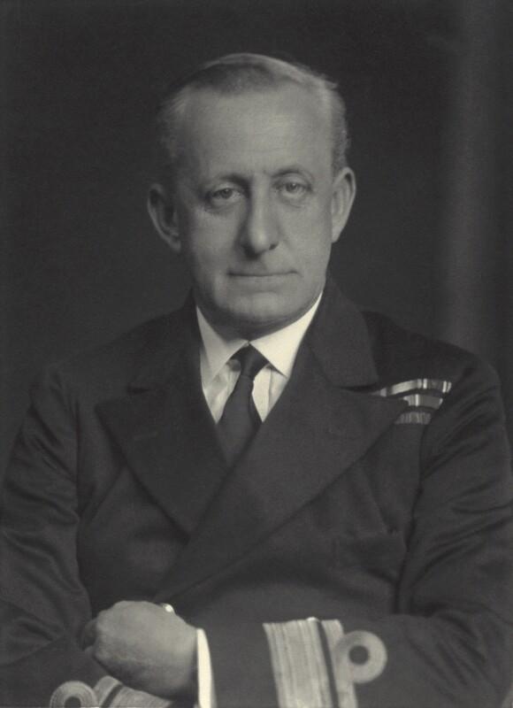 Sir Geoffrey Schomberg Arbuthnot, by Walter Stoneman, 1938 - NPG x163647 - © National Portrait Gallery, London