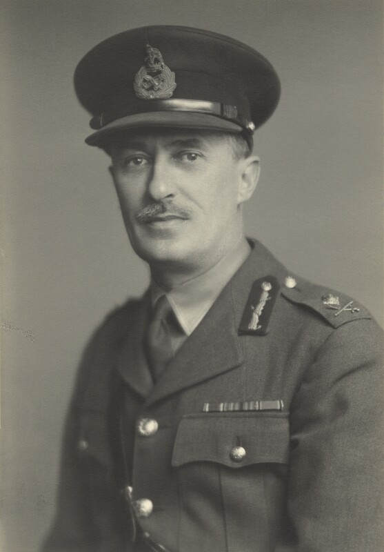 St John Desmond Arcedeckne-Butler, by Walter Stoneman, April 1944 - NPG x163648 - © National Portrait Gallery, London