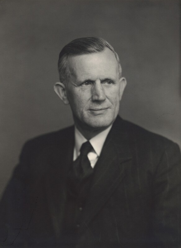 Sir (Isaac) Frederick Armer, by Walter Stoneman, 1955 - NPG x163655 - © National Portrait Gallery, London