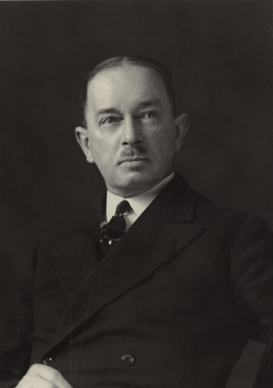Sir Sydney Armitage Armitage-Smith, by Walter Stoneman, 1932 - NPG x163659 - © National Portrait Gallery, London