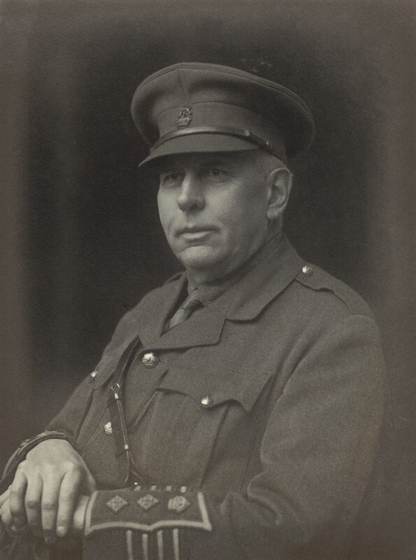 Called Colonel G.E. Armstrong, by Walter Stoneman, 1917 - NPG x163662 - © National Portrait Gallery, London
