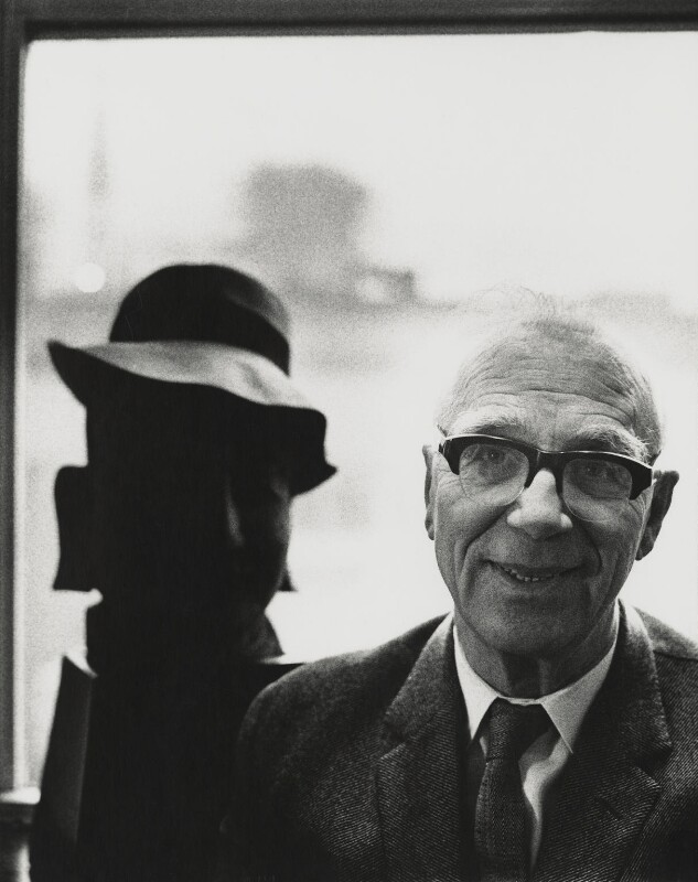 Sir Ove Arup, by Godfrey Argent, 4 February 1969 - NPG x163677 - © National Portrait Gallery, London