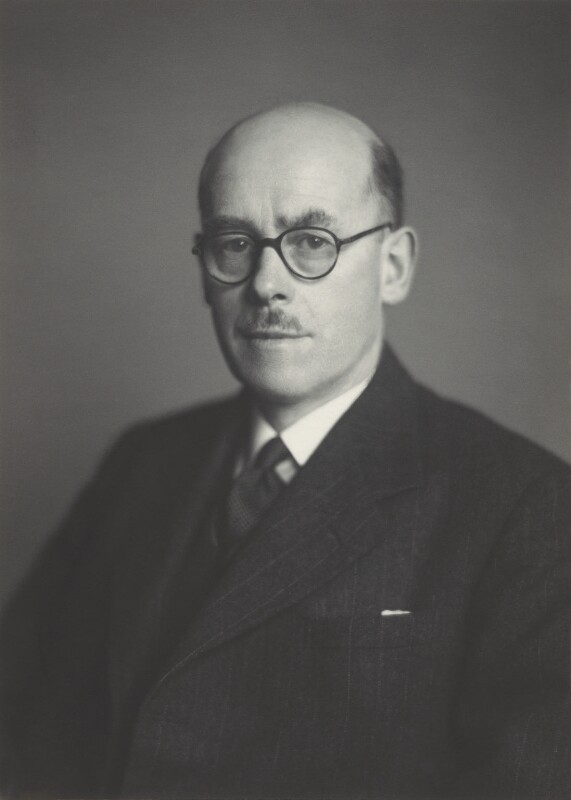 Sir Noel Ashbridge, by Walter Stoneman, December 1947 - NPG x163679 - © National Portrait Gallery, London