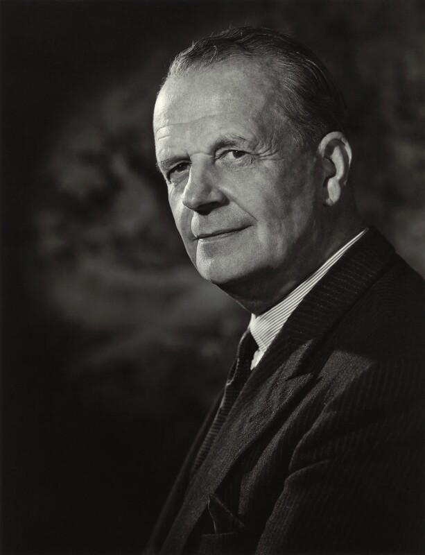 Alexander Francis St Vincent Baring, 6th Baron Ashburton, by Walter Bird, 4 July 1962 - NPG x163680 - © National Portrait Gallery, London
