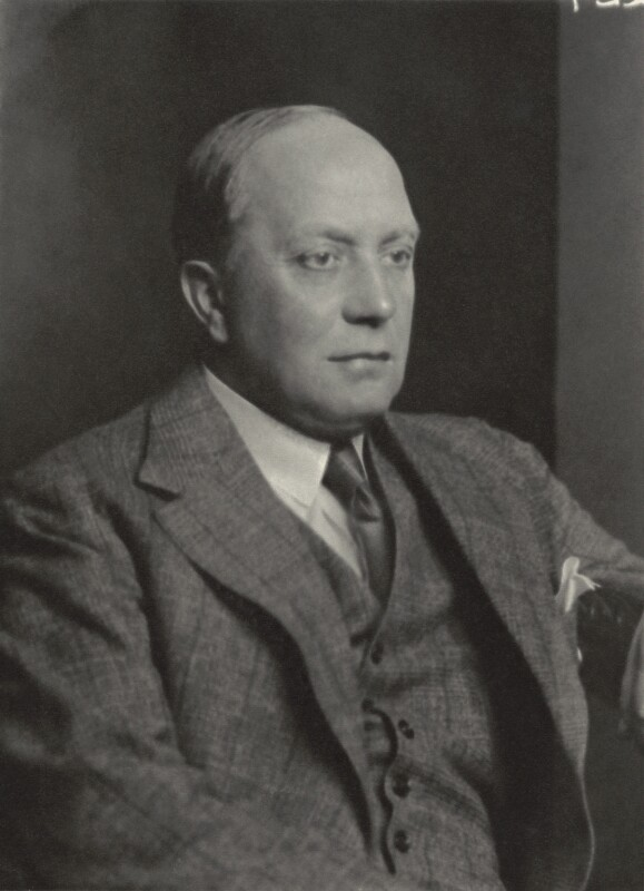 Sir Percy Walter Llewellyn Ashley, by Walter Stoneman, 13 June 1933 - NPG x163684 - © National Portrait Gallery, London