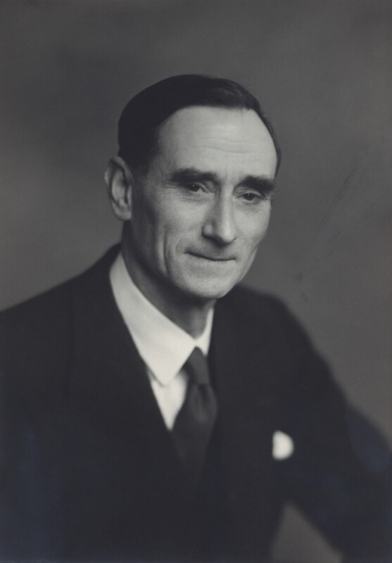 Bernard Ashmole, by Walter Stoneman, 1955 - NPG x163742 - © National Portrait Gallery, London