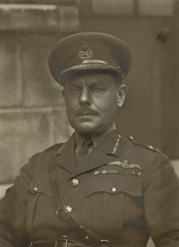 Edward Bailey Ashmore, by Walter Stoneman, 1918 - NPG x163743 - © National Portrait Gallery, London