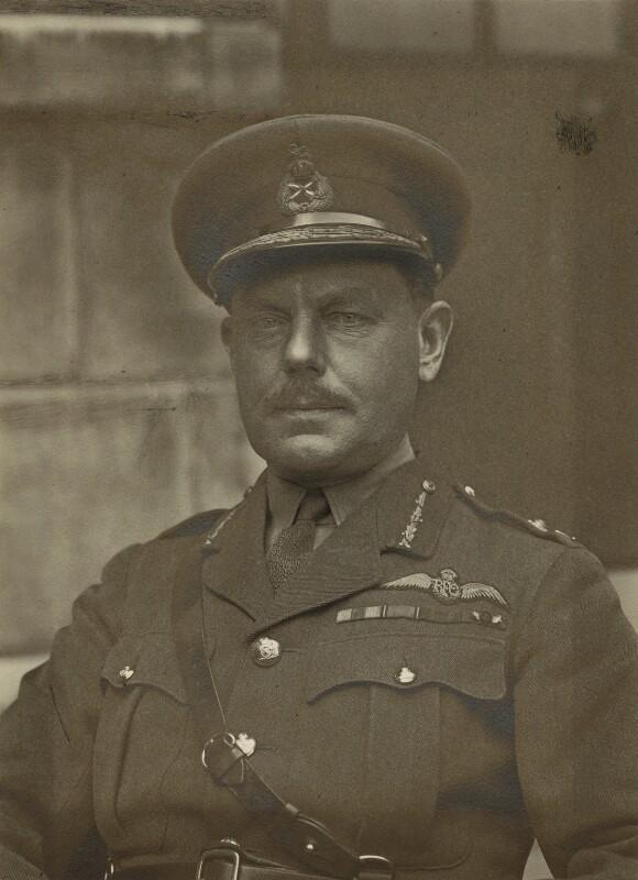 Edward Bailey Ashmore, by Walter Stoneman, 1918 - NPG x163743 - © National Portrait Gallery, London