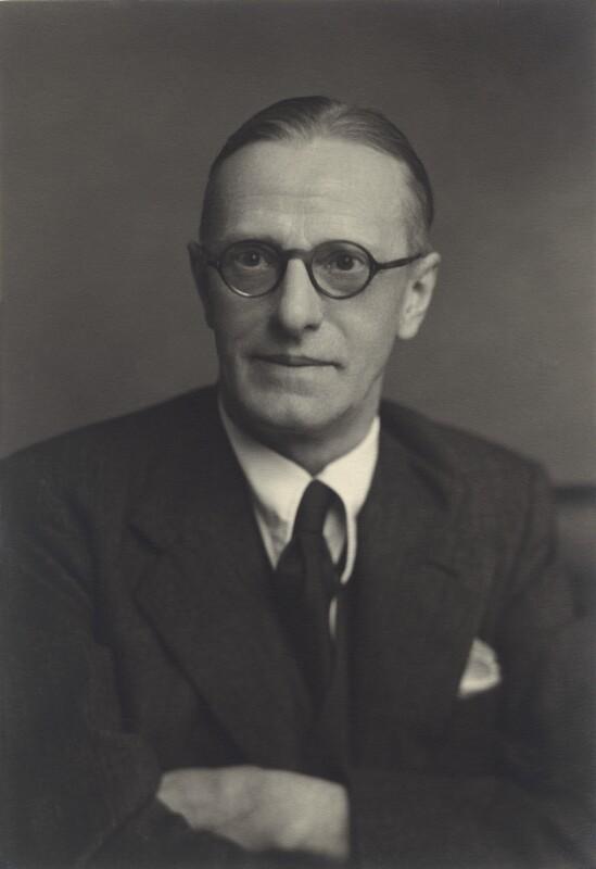 Thomas Southcliffe Ashton, by Walter Stoneman, 1953 - NPG x163750 - © National Portrait Gallery, London