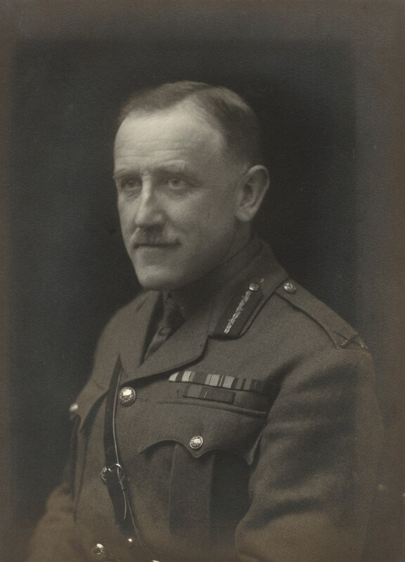 Cecil Faber Aspinall-Oglander, by Walter Stoneman, 1918 - NPG x163753 - © National Portrait Gallery, London