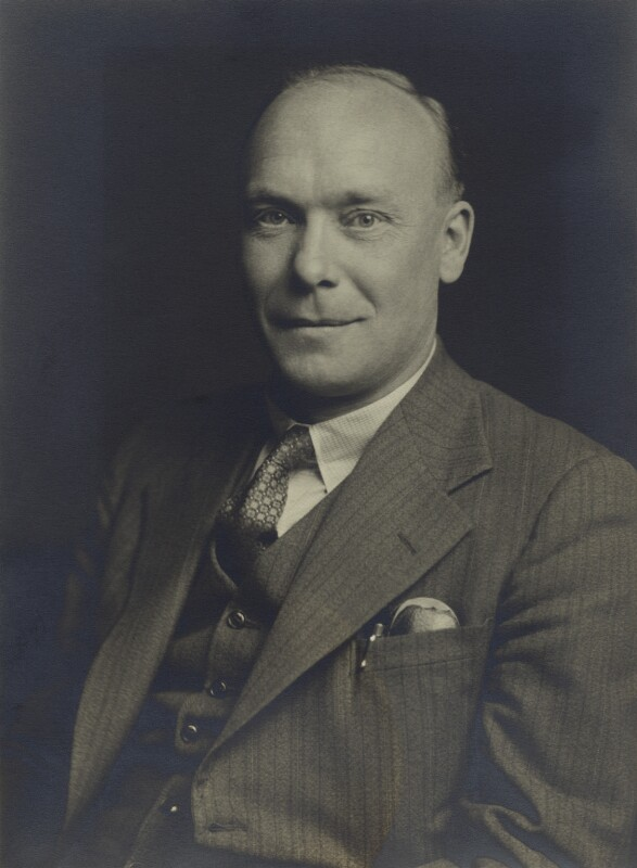 William Thomas Astbury, by Walter Stoneman, April 1940 - NPG x163757 - © National Portrait Gallery, London