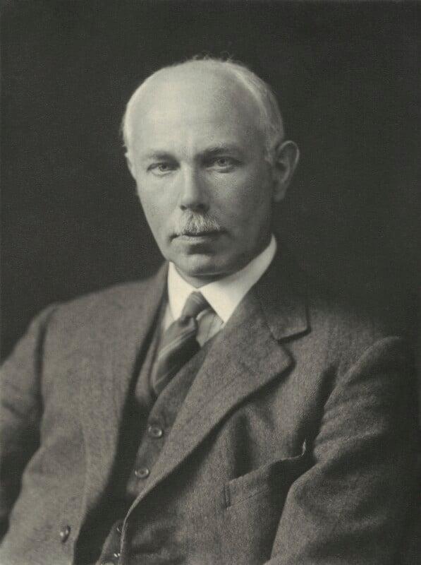 Francis William Aston, by Walter Stoneman, 1932 - NPG x163760 - © National Portrait Gallery, London