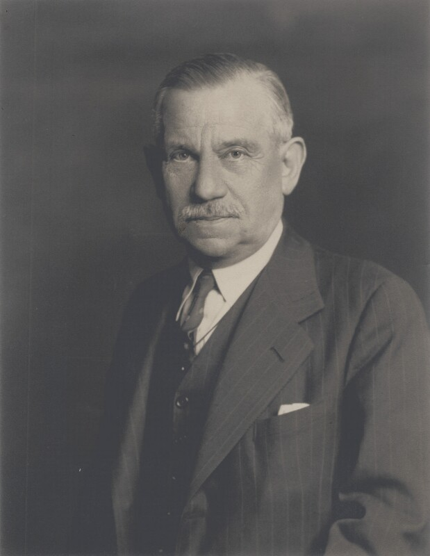 Sir Albert Reuben Atkey, by Walter Stoneman, January 1940 - NPG x163770 - © National Portrait Gallery, London