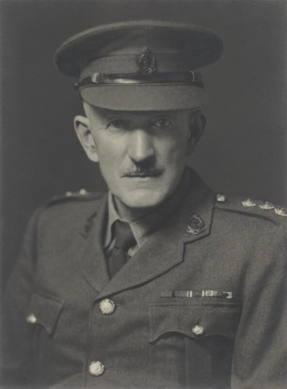 William Ringrose Gelston Atkins, by Walter Stoneman, July 1942 - NPG x163773 - © National Portrait Gallery, London