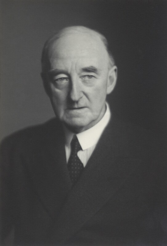Sir Cyril Atkinson, by Walter Stoneman, 10 December 1946 - NPG x163776 - © National Portrait Gallery, London