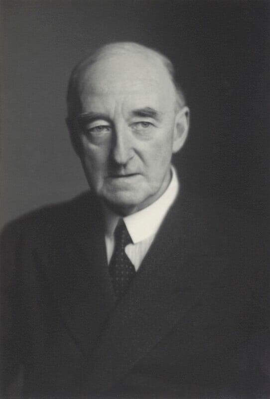 Sir Cyril Atkinson, by Walter Stoneman, 10 December 1946 - NPG x163776 - © National Portrait Gallery, London