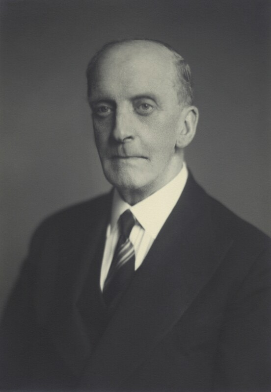Sir Edward Hale Tindal Atkinson, by Walter Stoneman, November 1947 - NPG x163777 - © National Portrait Gallery, London