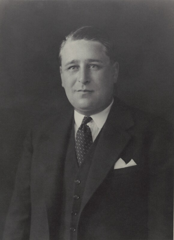 Frederick Colvin George Eden, 6th Baron Auckland, by Walter Stoneman, 1931 - NPG x163787 - © National Portrait Gallery, London