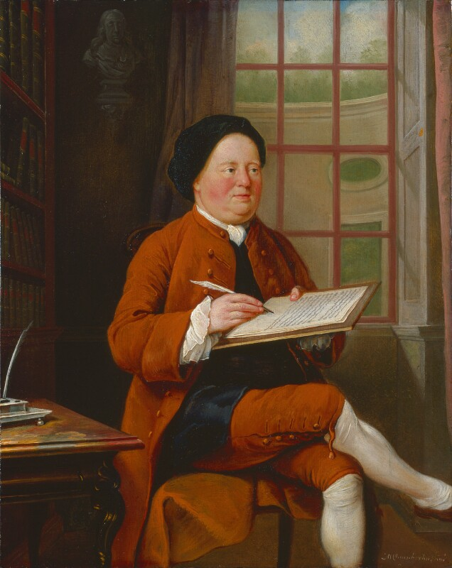 Samuel Richardson, by Mason Chamberlin, 1754 or before - NPG 6435 - © National Portrait Gallery, London