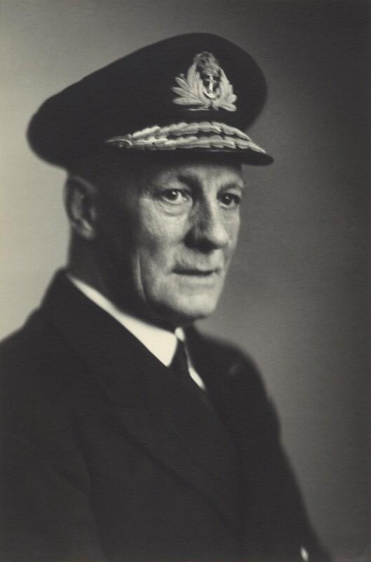 Sir Francis Murray Austin, by Walter Stoneman, 4 February 1946 - NPG x163789 - © National Portrait Gallery, London
