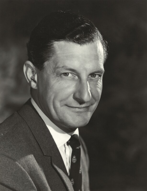 Richard Cecil Ayling, by Walter Bird, 4 July 1962 - NPG x163794 - © National Portrait Gallery, London