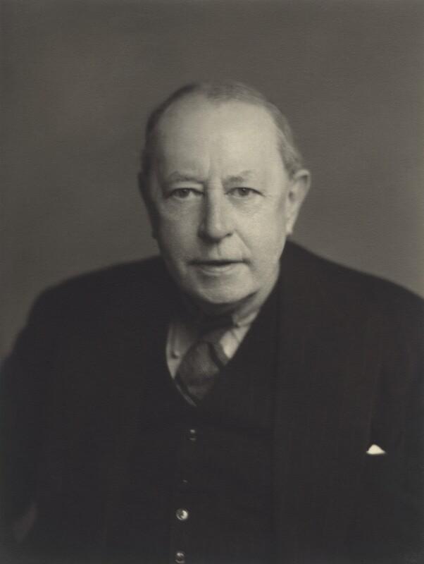 Sir Kenneth Ralph Barnes, by Walter Stoneman, 1954 - NPG x163908 - © National Portrait Gallery, London