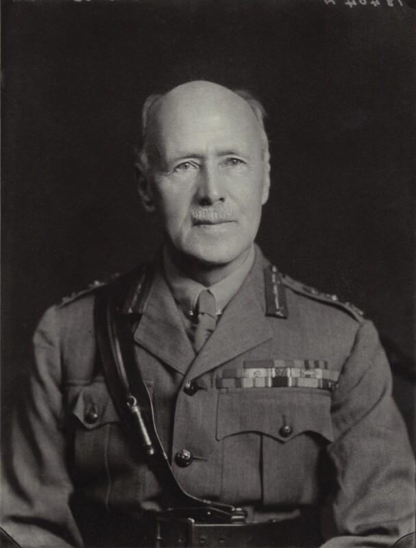 Sir George de Symons Barrow, by Walter Stoneman, July 1936 - NPG x163926 - © National Portrait Gallery, London