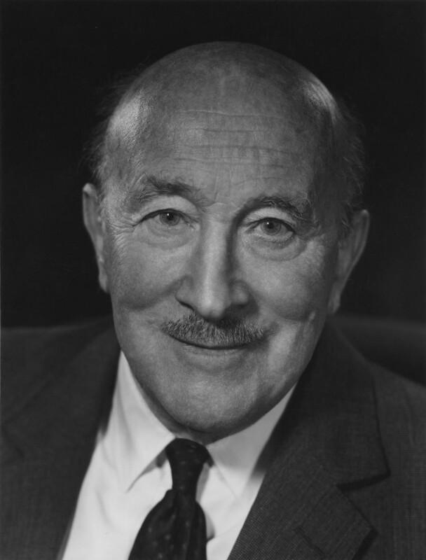 Sir Edward Beddington-Behrens, by Godfrey Argent, 2 November 1967 - NPG x164001 - © National Portrait Gallery, London