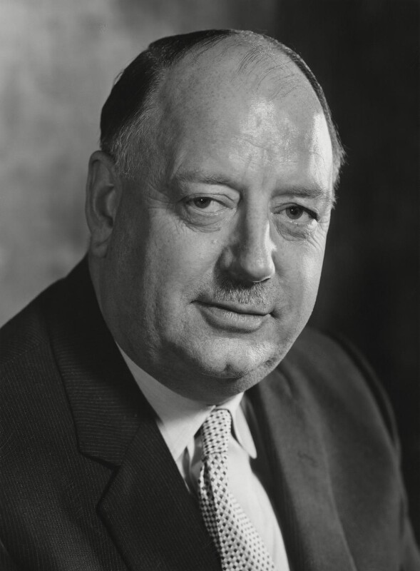 Richard Beeching, 1st Baron Beeching, by Godfrey Argent, 3 February 1970 - NPG x164012 - © National Portrait Gallery, London