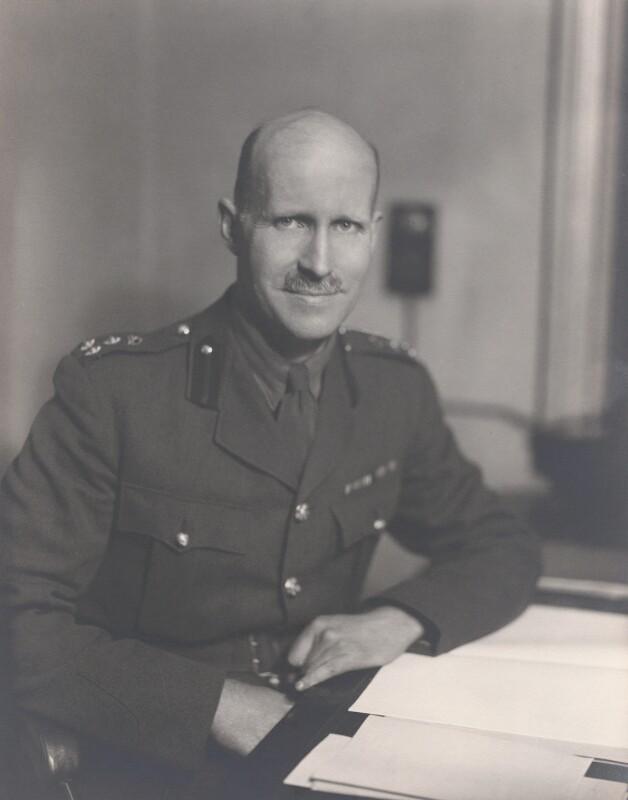 Charles Scott Napier, by Walter Stoneman, June 1942 - NPG x164131 - © National Portrait Gallery, London