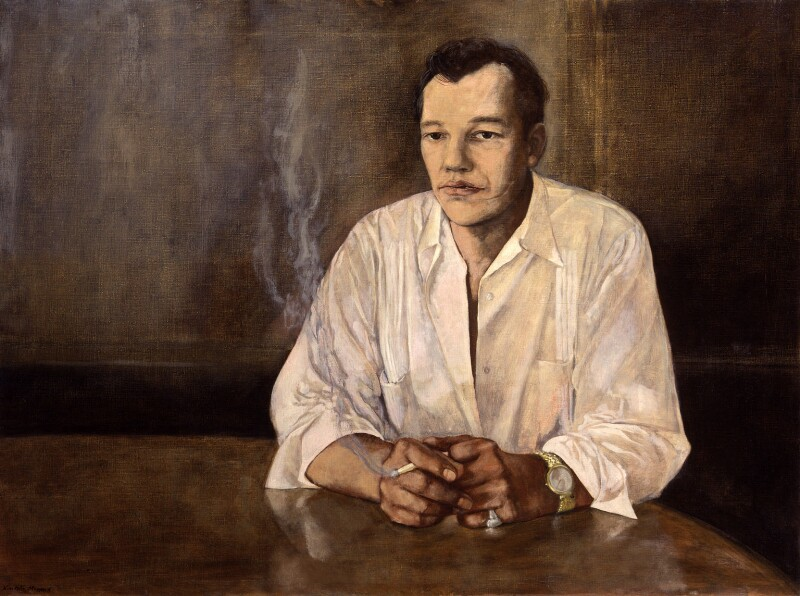 Frank Norman, by Nicolette Meeres, 1961 - NPG 6437 - © Nicolette Meeres / National Portrait Gallery, London