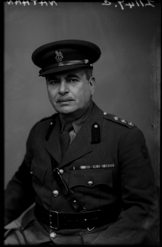 Harry Louis Nathan, 1st Baron Nathan, by Walter Stoneman, February 1943 - NPG x164677 - © National Portrait Gallery, London