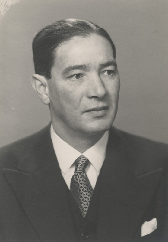 Sir Frank Aubrey Newsam, by Walter Stoneman, February 1943 - NPG x164755 - © National Portrait Gallery, London