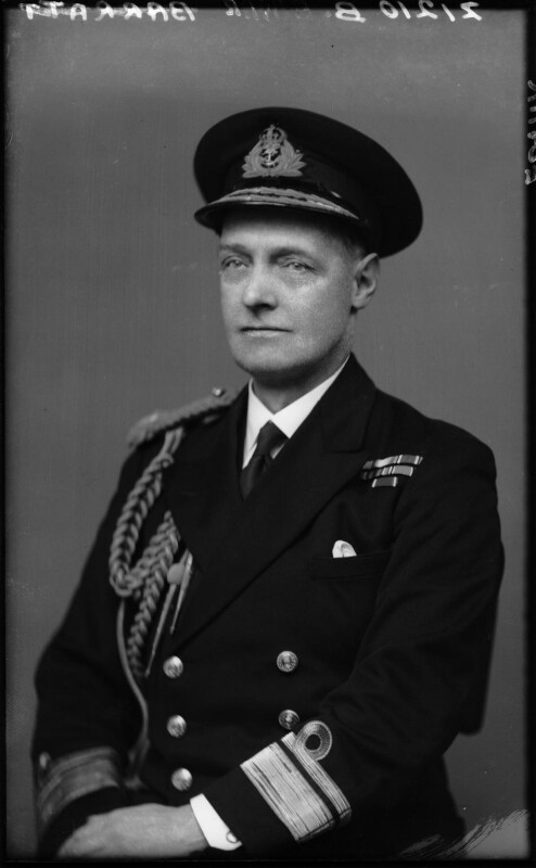 William Harold Edgar, by Walter Stoneman, March 1943 - NPG x164950 - © National Portrait Gallery, London
