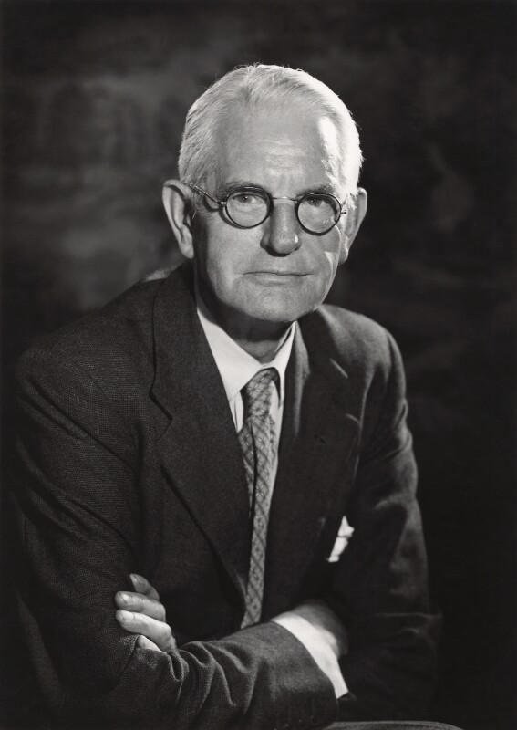 Sir George Benson, by Walter Bird, June 1959 - NPG x165038 - © National Portrait Gallery, London