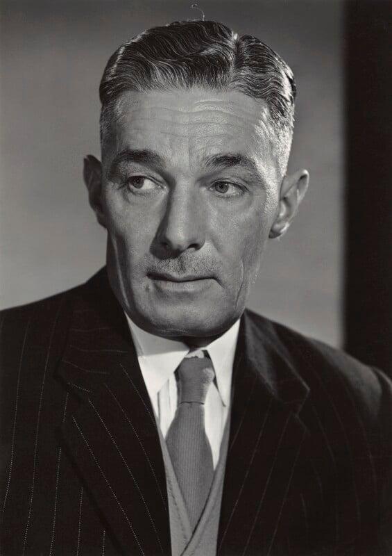 (John) Reginald Bevins, by Walter Bird, December 1959 - NPG x165173 - © National Portrait Gallery, London